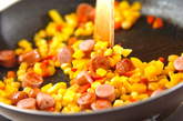 炒めジャンバラヤの作り方1