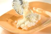 モッツァレラチーズ入りリゾット風の作り方2
