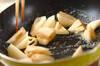 レンコンのバター炒めの作り方の手順2