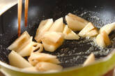 レンコンのバター炒めの作り方2