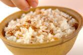 ミョウガの佃煮混ぜご飯の作り方3