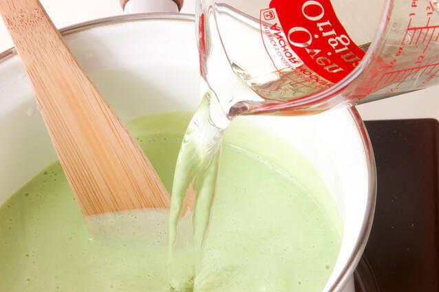 エンドウの香りポタージュの作り方の手順6