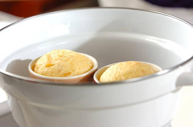 ユズ蒸しパンの作り方の手順6