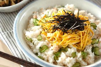 タラコ入り混ぜ寿司