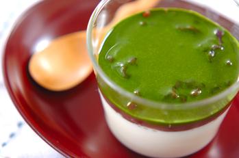 豆乳カン・抹茶ソース