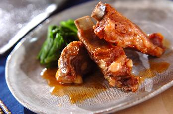 豚骨付きバラ肉のうま煮