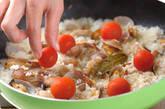 アサリとトマトの焼き飯の作り方3