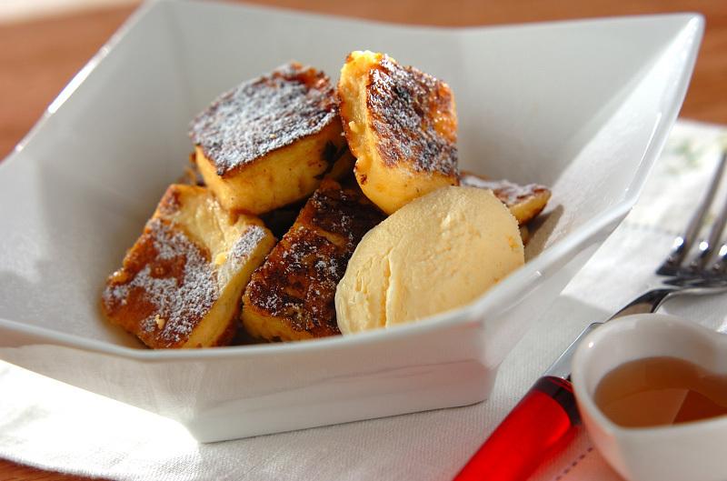 ふんわりパンケーキのフレンチトースト