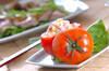トマトのサラダの作り方の手順