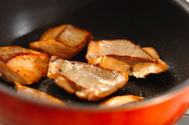 鮭のバター蒸し煮の作り方の手順5