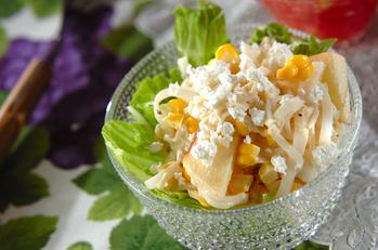 大根とホタテのサラダ