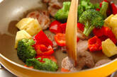 豚肉とパイナップルの炒め物の作り方5