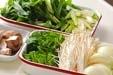 E・レシピ風牛すき焼きの下準備4
