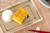 だし巻き卵ヒジキ入りの作り方の手順