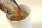 牛肉入りスープの作り方3