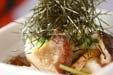 シイタケの長芋和え