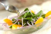 ホウレン草のサラダの作り方5