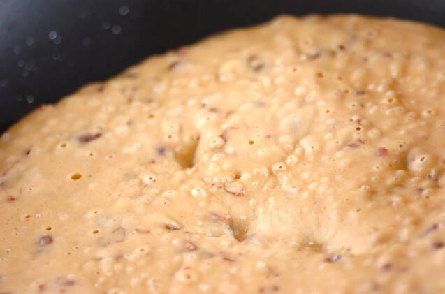 小豆パンケーキの作り方の手順3