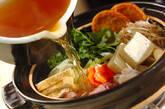 たっぷりちゃんこ鍋の作り方1