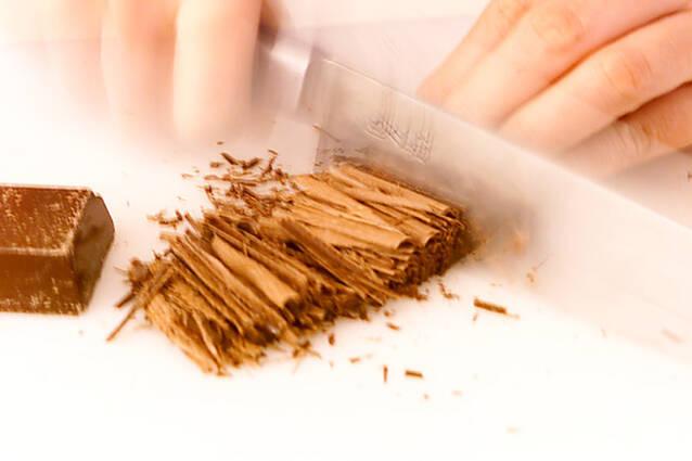 チョコレートシフォンの作り方の手順1
