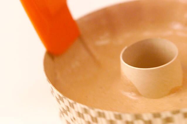 チョコレートシフォンの作り方の手順10