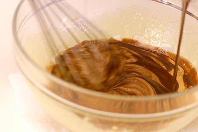 チョコレートシフォンの作り方の手順5