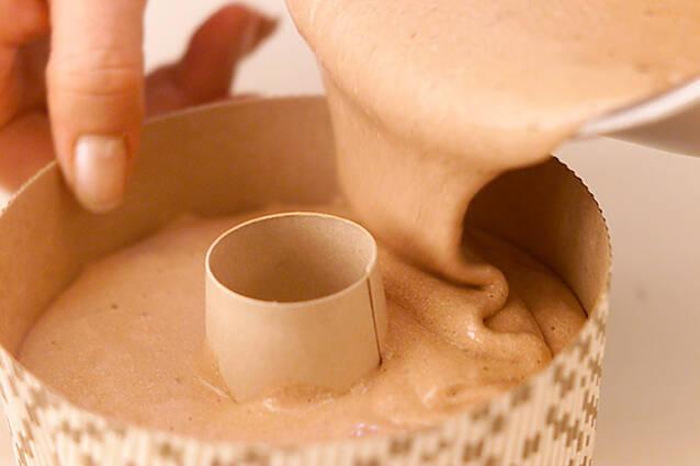 チョコレートシフォンの作り方の手順9