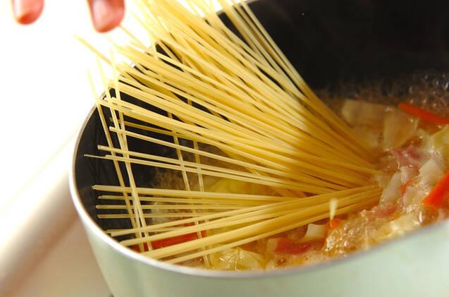 パスタ入りミルクスープの作り方の手順6