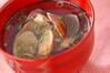 貝のお吸い物の作り方の手順