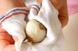 コロコロ小芋みそ汁の下準備1