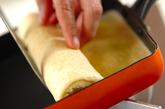バナナメープル風味のくるくるクレープの作り方3