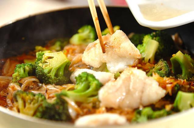 タラのケチャップ炒めの作り方の手順9