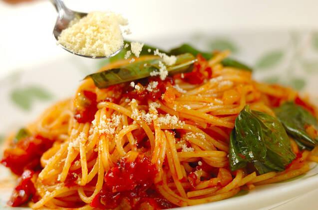 基本のトマトパスタの作り方の手順6