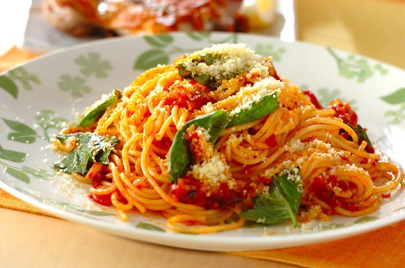 2. 基本のトマトパスタ