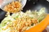 キャベツと天かすの炒め物の作り方の手順5