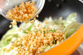 キャベツと天かすの炒め物の作り方5
