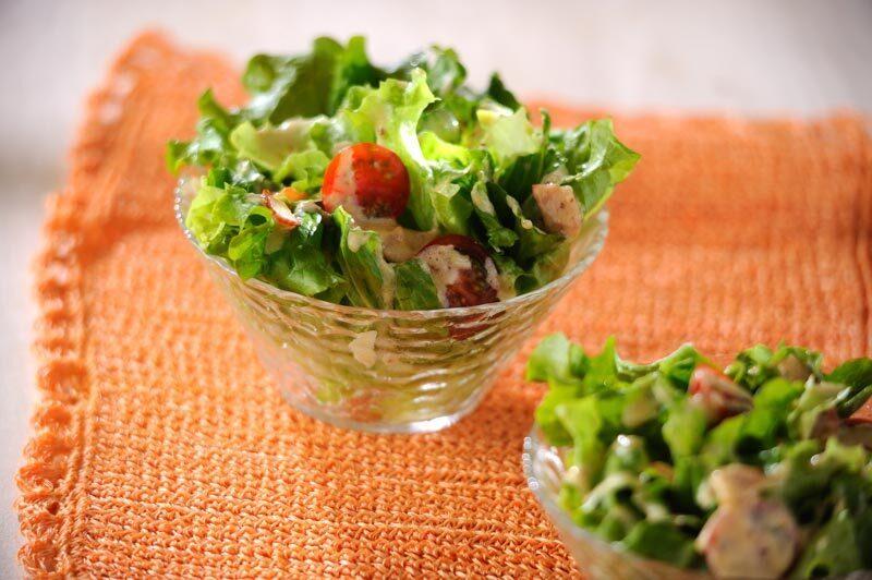 ベーコンレタスサラダ