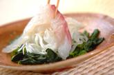 白身魚のピリ辛カルパッチョの作り方1