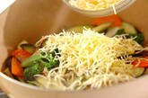 色々野菜のチーズ炒めの作り方7