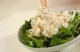 イカのおろしサラダの作り方1