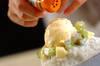トロピカルココナッツの台湾風かき氷の作り方の手順6
