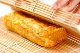 ベーコンとチーズ入り卵焼きの作り方3