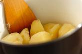 リンゴ入りポテトサラダの作り方1