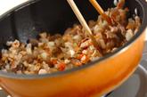 具だくさん炊き込み玄米ご飯の作り方1