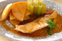 鯛とタケノコの煮物