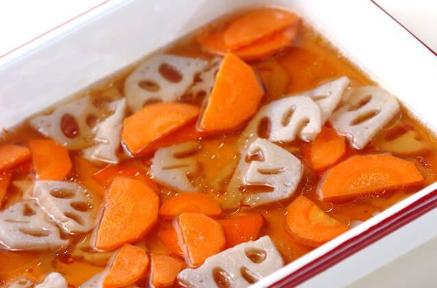 レンコンのピリ辛漬けの作り方の手順3