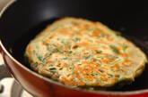 アサリとミツバのお好み焼きの作り方3