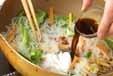 糸コンニャクのきんぴらの作り方2