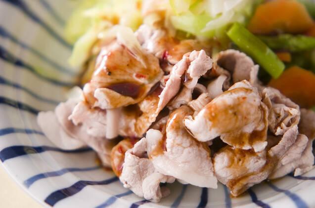 豚肉のオイスターソース