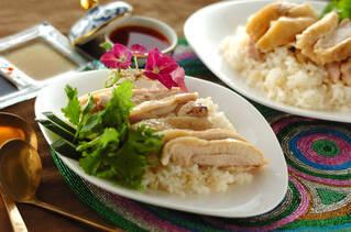 炊飯器でつくるシンガポールチキンライス
